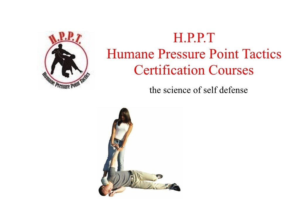 Learn Humane Pressure Point Tactics